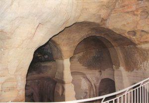 parte alta de cueva San Miguel