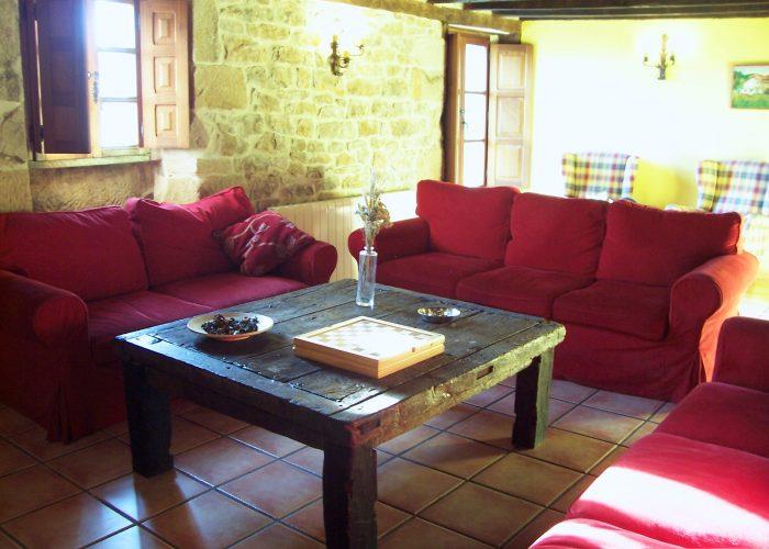casa rural La Toba II salón