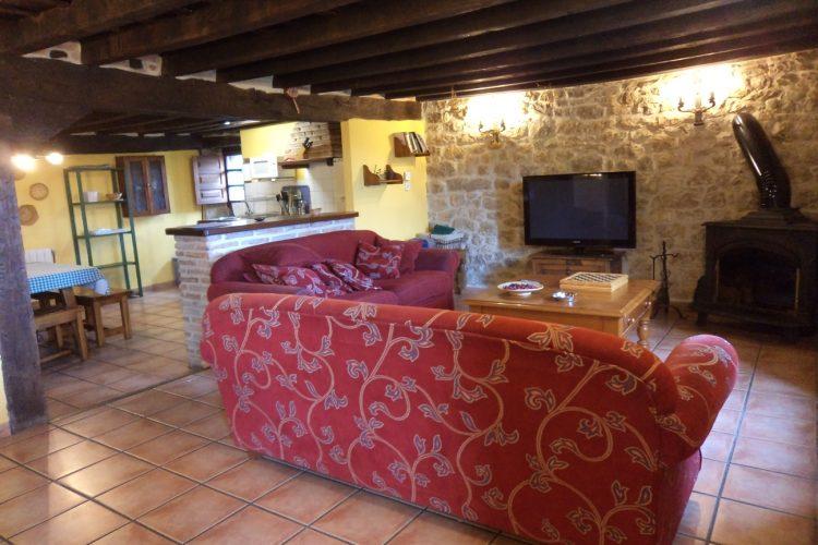 Salón casa rural La Toba I