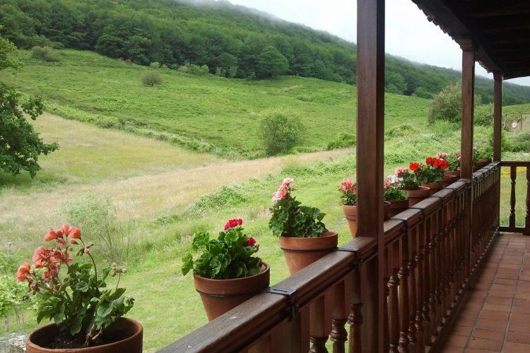 casa rural con buenas vistas
