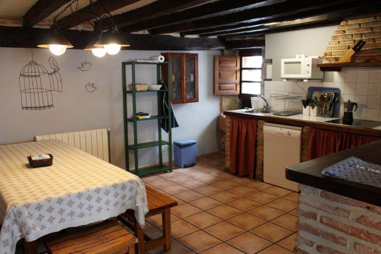 Cocina casa rural La Toba I