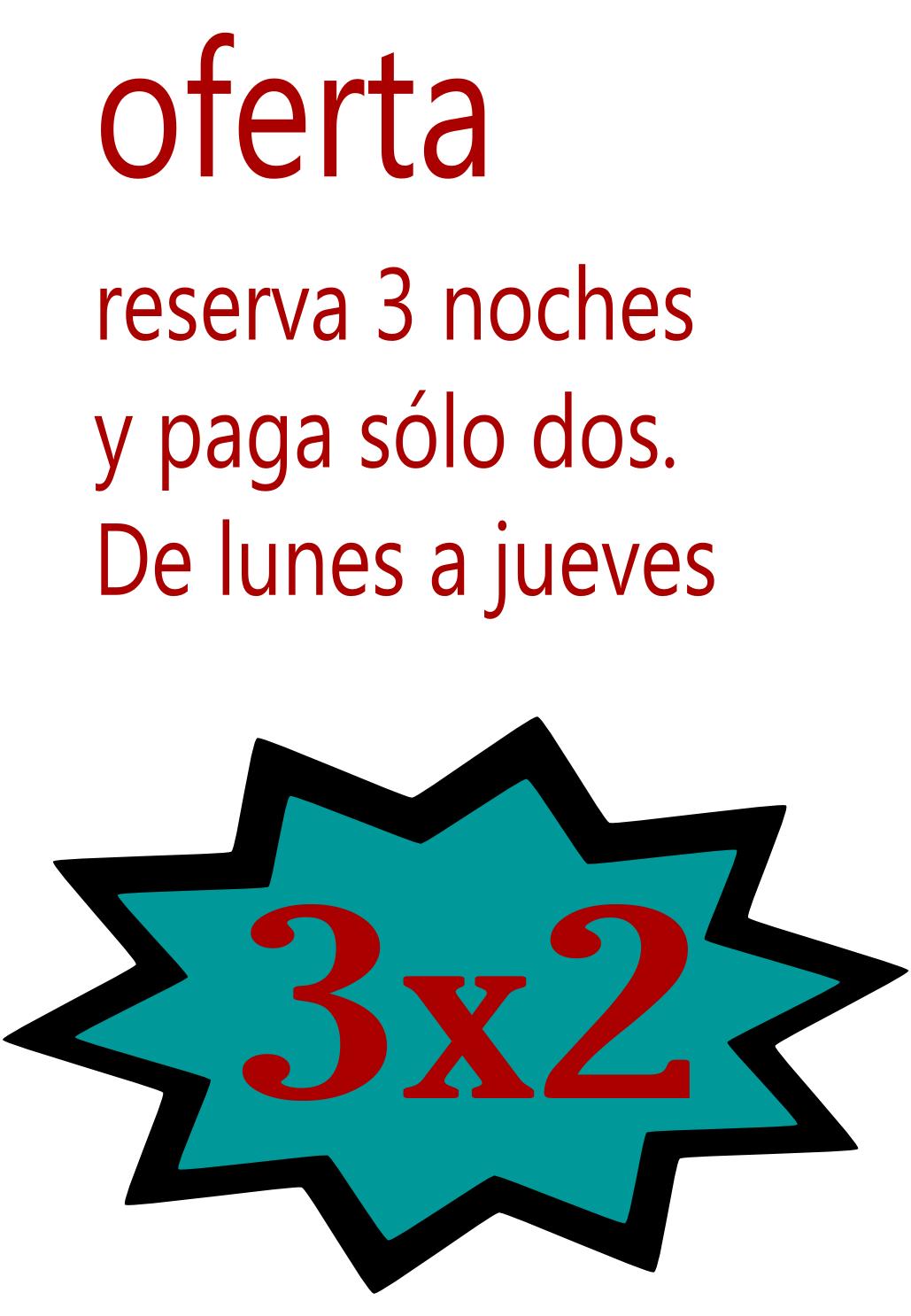 Oferta 3x2 casa rural Burgos