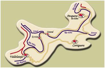 ruta cañones del Ebro