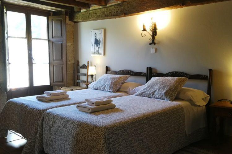 habitación doble casa rural La Toba I