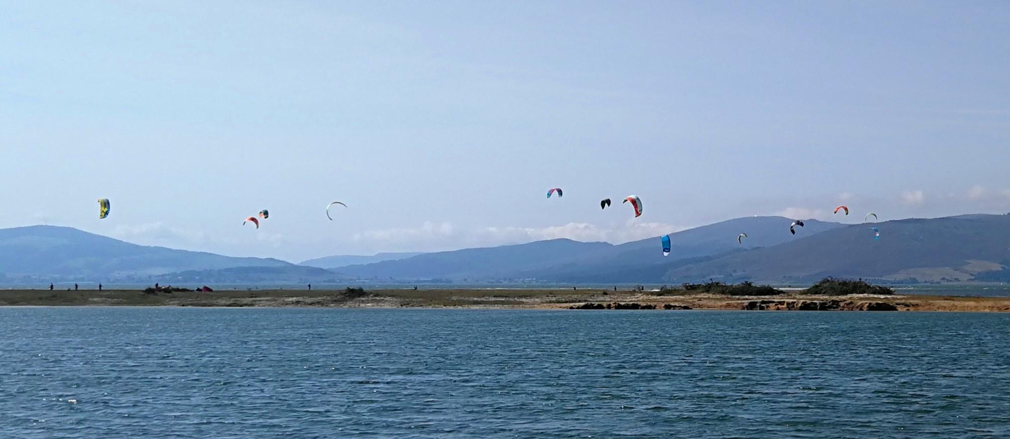 kite surf en Embalse del Ebro