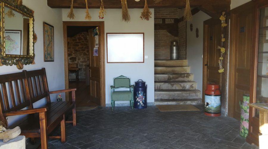 casa rural La Toba I y II entrada