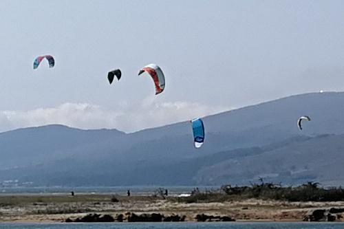 kite surf Pantano Ebro
