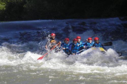 actividades casa rural La Toba rafting