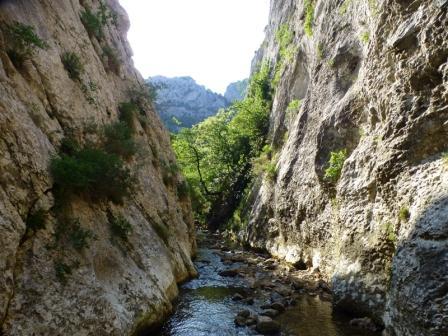 ruta senderismo Desfiladero de las Palancas