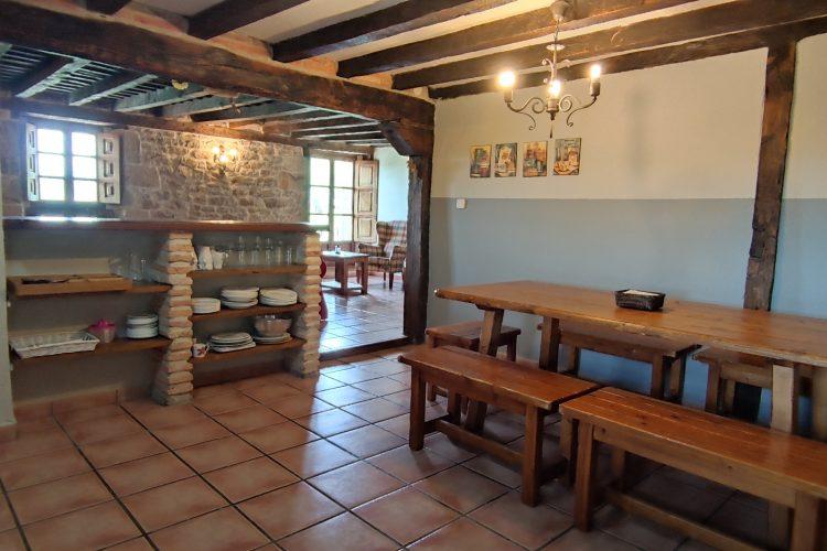 casa rural La Toba II cocina