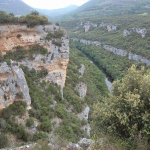 cañones del Ebro desde mirador